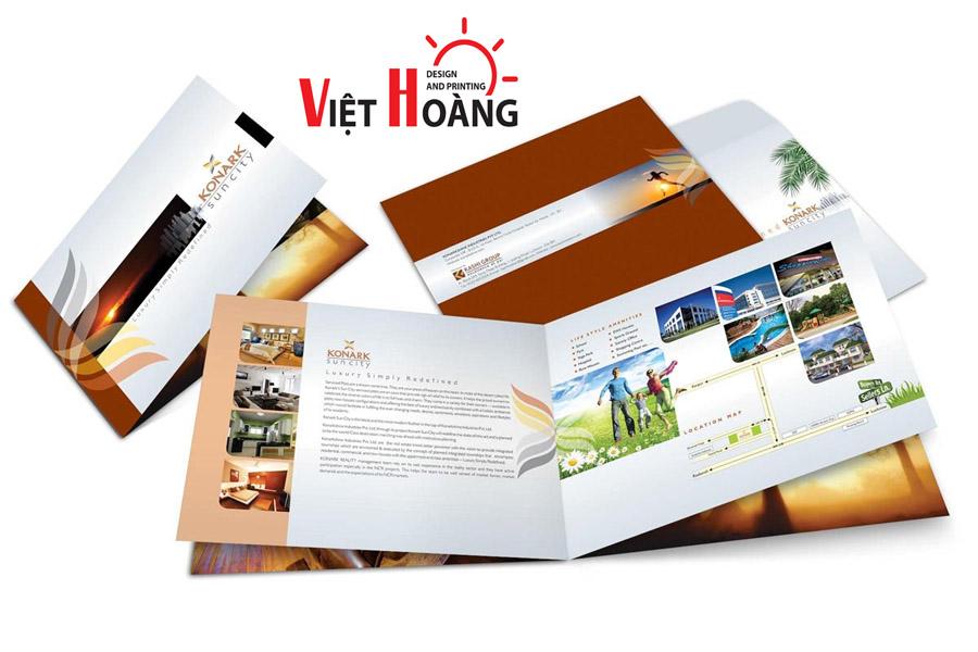 In catalogue, in tờ rơi tại In Việt Hoàng