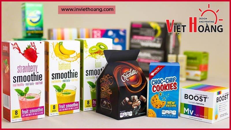 Sản phẩm bao bì đẹp giúp nhận diện và tăng doanh số bán hàng