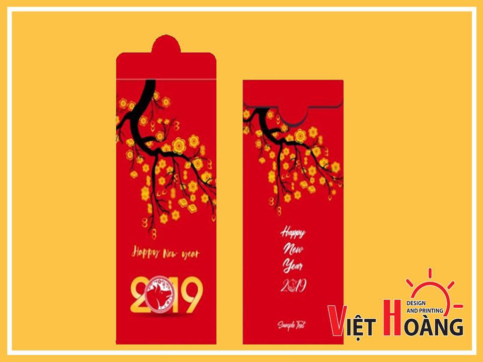 Mẫu bao lì xì đẹp của In Việt Hoàng