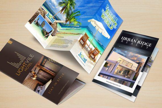 Sản phẩm brochure đẹp tại In Việt Hoàng